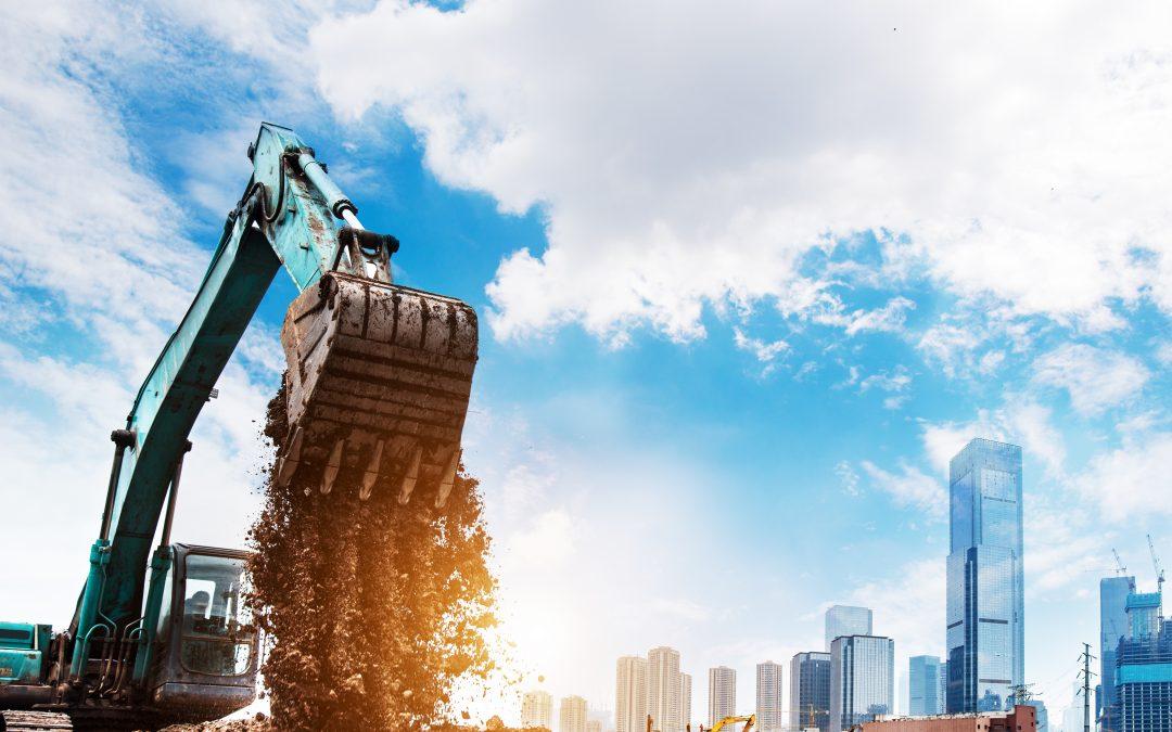 3 vantagens de alugar máquinas para construção com uma distribuidora